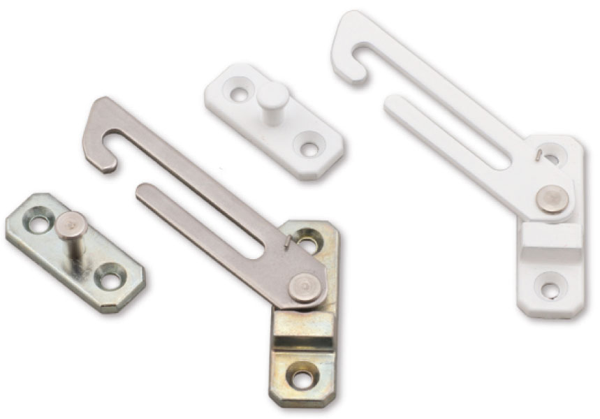 Concealed window restrictors for Door opening restrictor